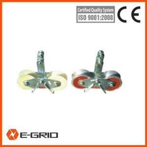 Crossarm mounted tri-roller stringing block china