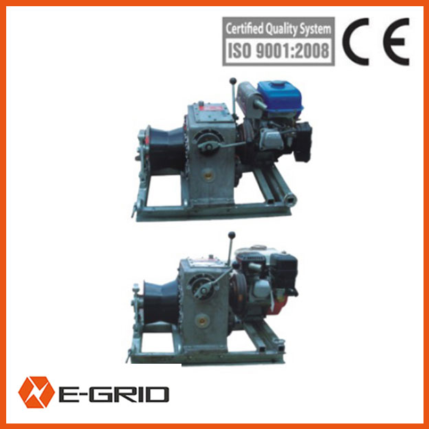 Diesel engine powered winch-09112