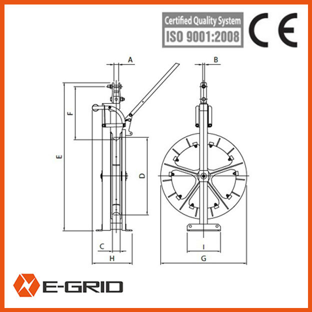 Helicopter Stringing wire rope pulley china