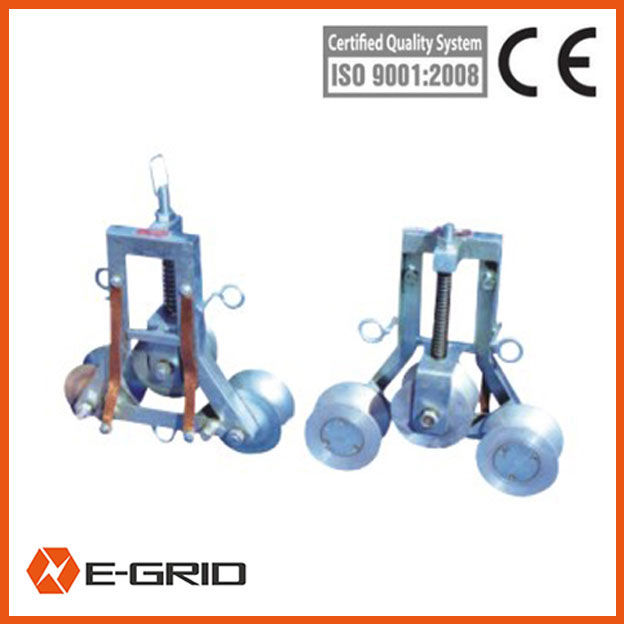 Stringing block for earth wire china