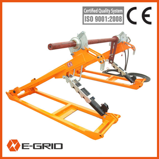 7T Hydraulic conductor reel stand China