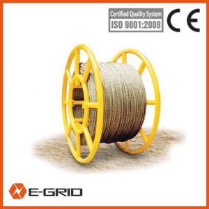 Galvanised steel wire rope as pulling rope China