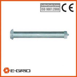Aluminum alloy Tower mounted small tubular gin pole