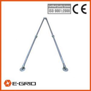 Attched manual winch Tubular A-shape aluminum alloy gin pole