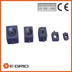 Hexagonal compressing die sets for conductor /earth wire