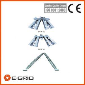 Aluminum alloy A-shape lattice-like gin pole