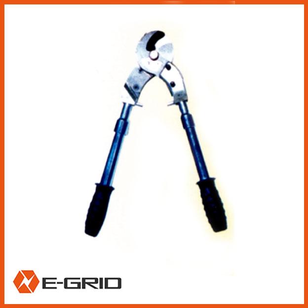 Ratchet cable scissors