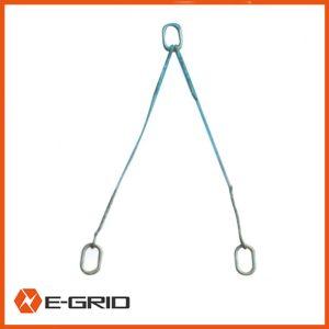 Two –leg bridle sling