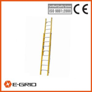 Fiberglass insulated light ladders