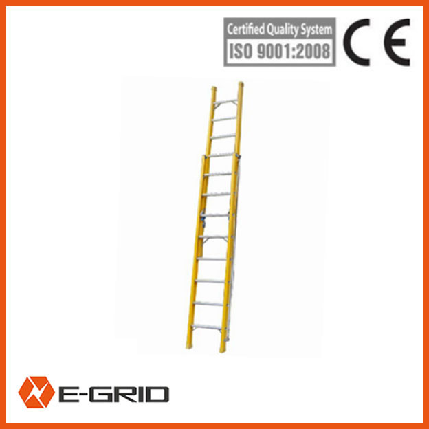 Fiberglass insulated light ladders