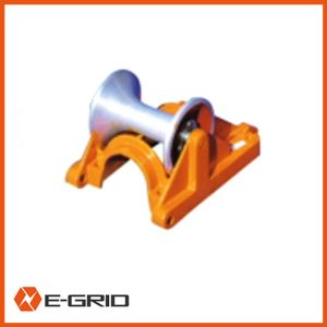 Cable ground roller (Cast aluminum support)